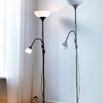 Ikea 2-in-1 Not Uplighter/Reading Lamp (Black) - picture 2
