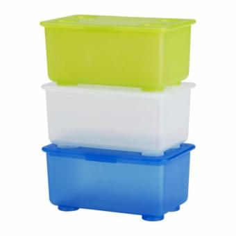 Ikea Glis Box with Lid Set of 3
