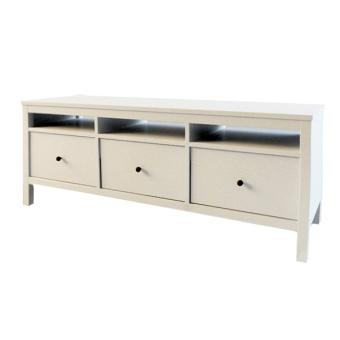 Ikea Hemnes Tv Bench With 3 Drawers White Lazada Ph