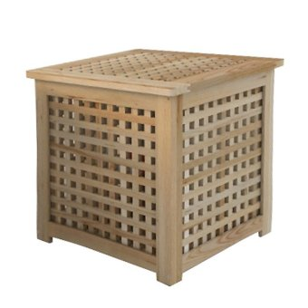 Ikea Hol Storage Side Table (Acacia) Price Philippines