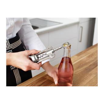Ikea IDEALISK Stainless Steel Wine Beer Bottle Opener WingCorkscrew - 3