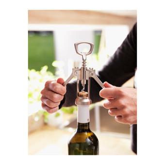 Ikea IDEALISK Stainless Steel Wine Beer Bottle Opener WingCorkscrew - 2