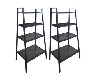 Ikea lerberg  Ikea Lerberg Shelving Unit (Dark Gray), Set of 2 | Lazada PH