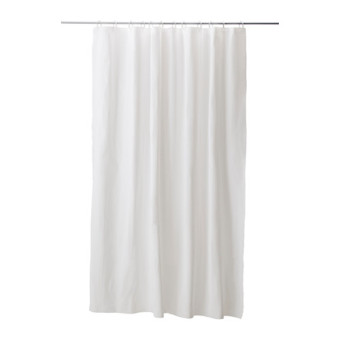 IKEA plastic waterproof anti-mildew shower curtain cloth door curtain shower curtain