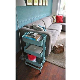Ikea Raskog Trolley (Turquoise) - 2