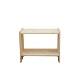 Ikea Rast Bedside Table (Pine)