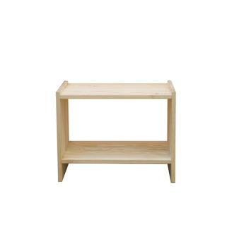 Ikea Rast Bedside Table (Pine)