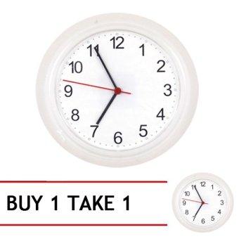 Ikea Rusch Wall Clock (White) Buy 1 Take 1