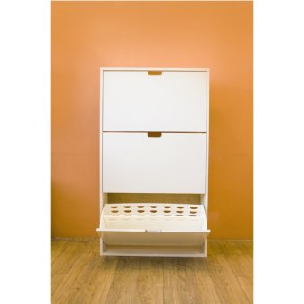 Ikea Stall 30-Pair Shoe Cabinet (White) Price Philippines