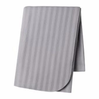 IKEA VITMOSSA  Throw Stipes Soft Blanket (Grey)