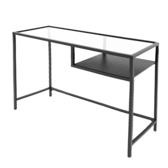 Ikea Vittsjo Laptop Table (Grey)