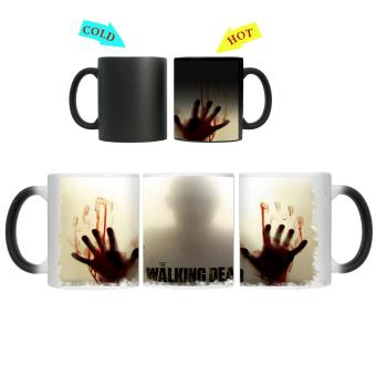 CopyCut Magic Color Changing Heat Sensitive Mug The Walking Dead Inspired- Zombie Halloween Price Philippines