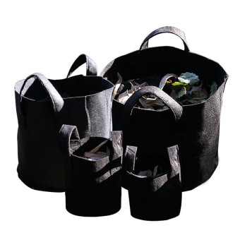 20Gallon H30*55cm Garden Fabric Grow Bags Breathable Pots Planters Root Pouch (Black) Audew Price Philippines