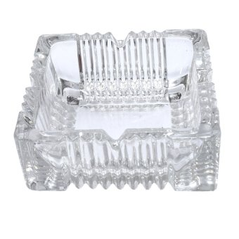 Harga Wawawei G1016-3 Glass Ashtray Tray