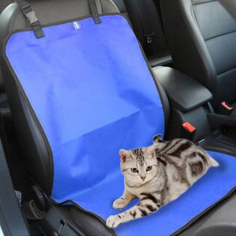 Harga Water-proof Pet Car Seat Cover Dog Cat Puppy Seat Mat Blanket Blue