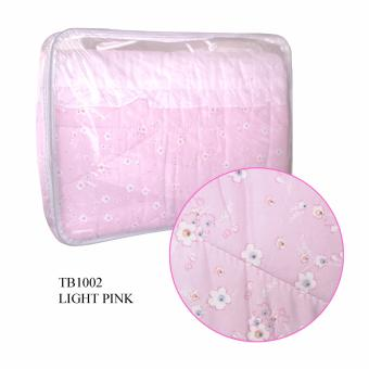 Harga 190 x 145cm Twin Bed Size Comforter (Pink)