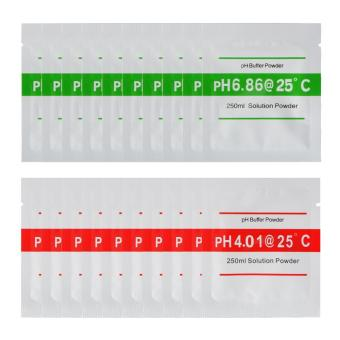 Harga XCSOURCE 20pcs 4.00 6.86 PH Buffer Powder for PH Meter Measure Calibration Solution BI672 - intl