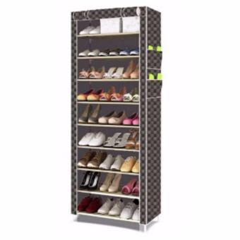 SHXT-609 Shoe Cabinet Shoe Rack (Checkered) Price Philippines