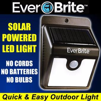 Harga EverBrite Motion Activated Solar Powered LED Light