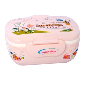 Harga wawawei YD-8236 Lunch Box Small (Pink)