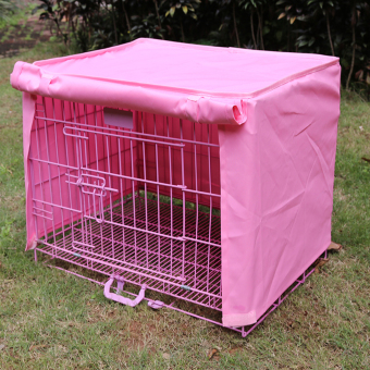 "Pet Dog Crate Cage Kennel COVER Pink 18"" Length Size S Price Philippines"