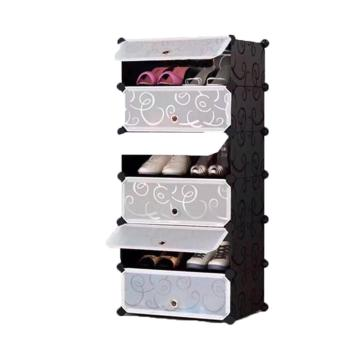 ACB Online Shop 5 Layer Shoe Rack Locker (Black) Price Philippines