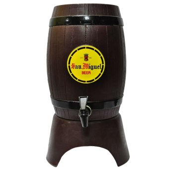 Harga San Miguel Beer Barrel (Brown)