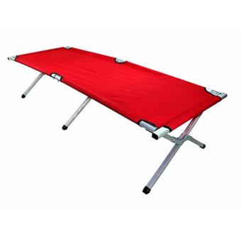 Heavy Duty Portable Folding Bed (red) Price Philippines
