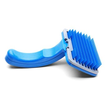 Harga Petsy Cleaning Pet Brush (Blue)