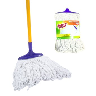 Harga Scotch-Brite Wide Cleaning Mop Set with Refill