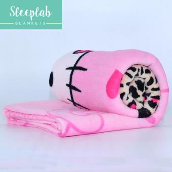 Sleeplab Coral Fleece 2017 Collection Pinky Squeed Blanket - (Twin) Price Philippines