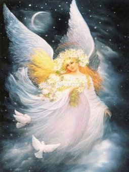 Harga OEM Angel Diamond Painting 5D Full Diamond Embroidery Cross Stitch By Numbers Home Art Craft Wall Decor Paintings - intl
