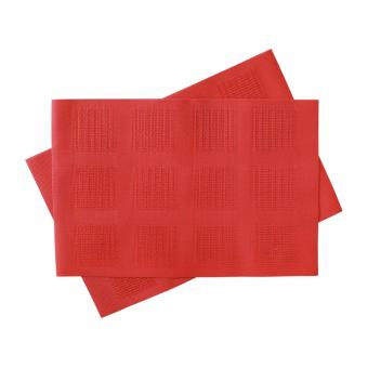 Harga Mandaue Foam TKY304F Embossed Orange Placemat