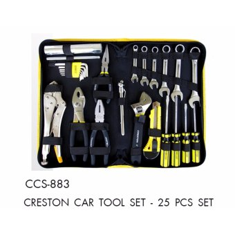 Harga 25 Pcs Set Creston Car Tool Set