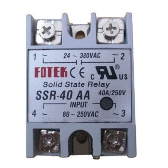 New 1PCS Solid State Relay SSR-40 AA AC-AC 40A/250V 80-250VAC/24-380VAC- - intl Price Philippines