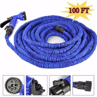 Harga Expandable Flexible Garden Hose 75ft (Blue)
