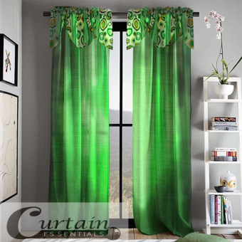 Curtain Essentials Orion Chartreuse Curtain (Green) Single Panel Price Philippines