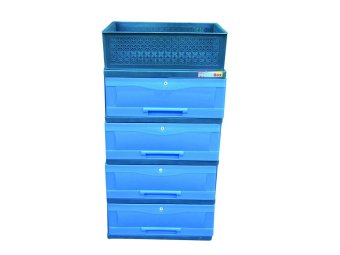 Power Box Chest Drawer D.288-4L(Blue) Price Philippines