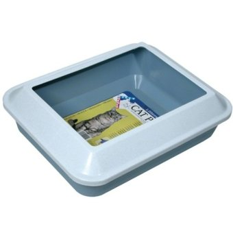 Hagen Catit L/Shield Cat Pan (Marble White Cover) Price Philippines