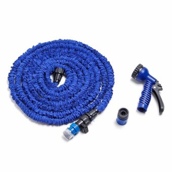 Harga Expandable Garden Hose 25 ft (Blue)