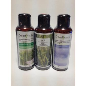 Harga Good Scents Aroma Fragrance 3 Best Sellers Citronella and Bamboo Lotus and Ocean Mist 125ml