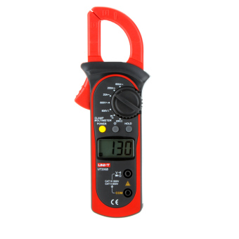 Harga UNI-T UT200B LCD Backlight AC/DC Voltage AC Current Resistance Digital Clamp Meters - intl