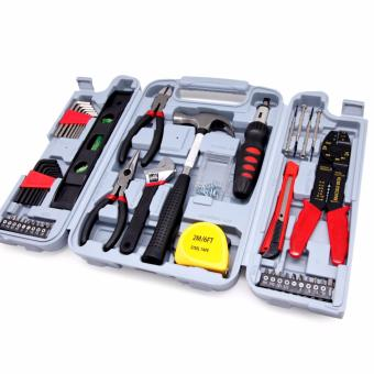 East Tools DT6037 Hand Tool Set 130-Piece Household Tool Kit - intl Price Philippines