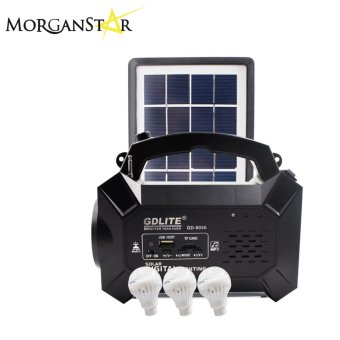 Harga Morganstar GDLITE GD-8056 Rechargeable FM Radio Solar Lighting System