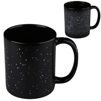 Harga 12 Constellations Magic Heat Sensitive Mug Porcelain Cup Color Changing - intl