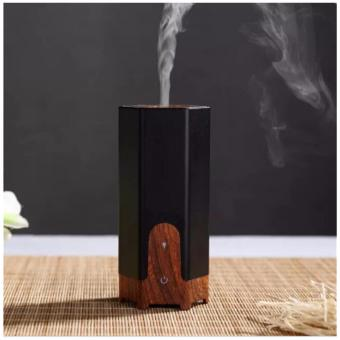 Harga Ultrasonic Aroma Diffuser Manual Humidity Control Dancing Room Diffuser 60ml Oil Diffuser 8 Hours Diffusing Time Air Purifier for Coffee Shop, Clothing Store, Yoga Room (black) - intl
