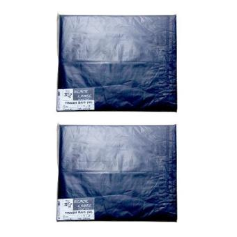 Harga Black Label Garbage Bag Medium (100's/pk) Set of 2