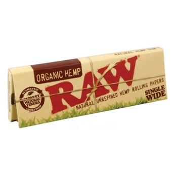 Harga Cigarette Rolling Paper RAW Organic SW SW - (Pack of 4)