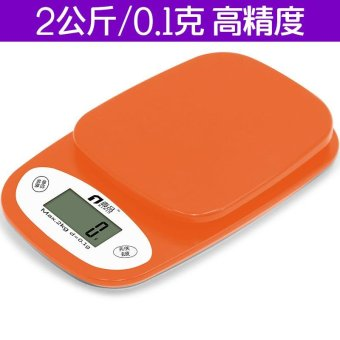 Harga 2000g/0.1g Digital Medical Lab Balance Weigh Weight Weighing Scale Kitchen Home - intl