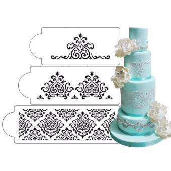 Harga Elaine's Cake Stencil Set, 3 pieces/set
